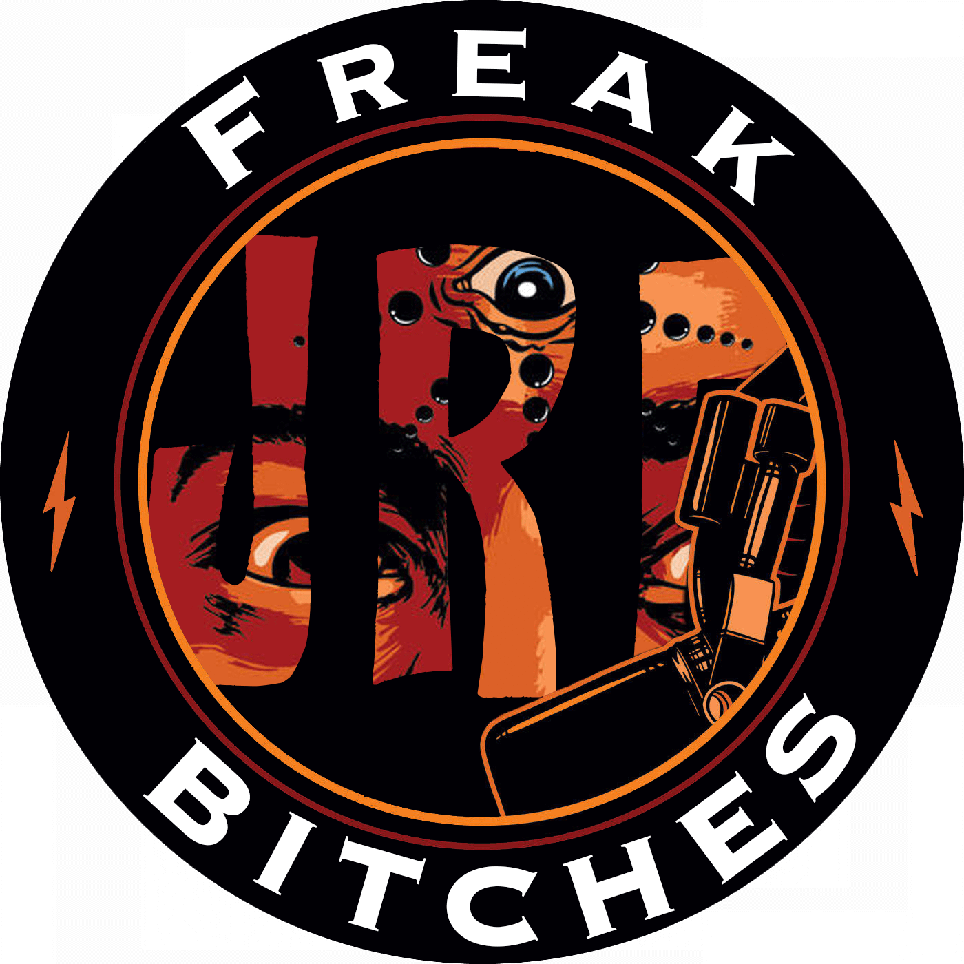 JRE Freak Bitches Logo